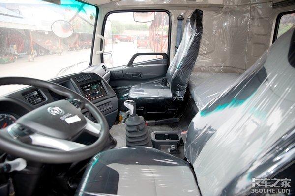6米8装天龙重卡驾驶室!这款高顶双卧多利卡D9跑绿通真舒服