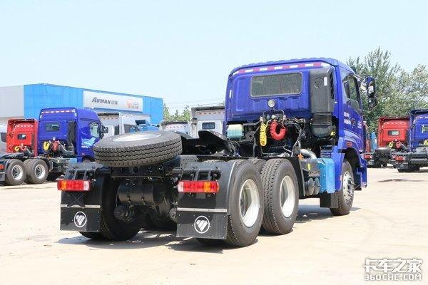 短途煤炭砂石料运输选谁2.845米高的欧曼新ETX自重仅8.2吨