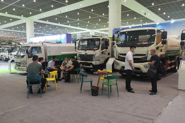 重点突破京津冀市场时代汽车携五款专用车亮相天津环卫展!