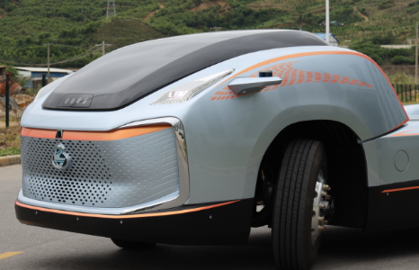 预见未来超前设计乘龙概念卡车首次曝光