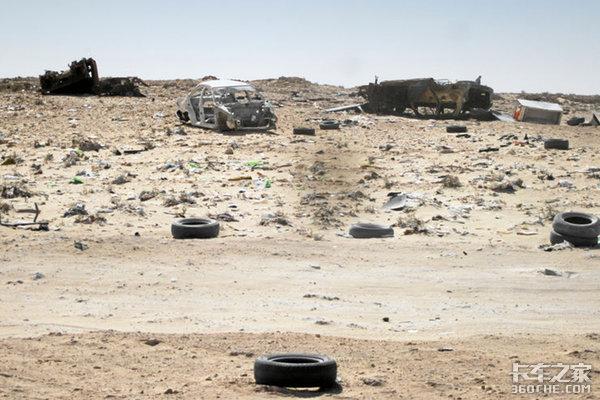 带着保镖跑运输?来看非洲卡友的日常定时炸弹就在路边