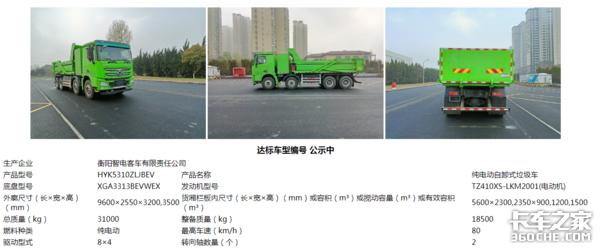 第33批达标车型公告看点电动垃圾车大涨4倍或迎高光时刻