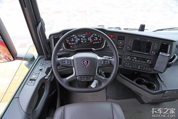 百万豪车斯堪尼亚S500好在哪带你全方位领略公路之王的魅力