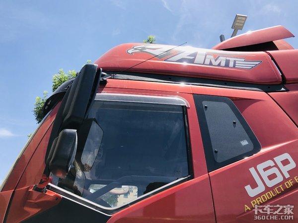 运输冷藏车队如何选车这款匹配有AMT变速箱的J6P非常顶