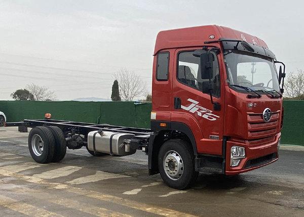 最大220马力总质量18吨5米8的解放JK6来了