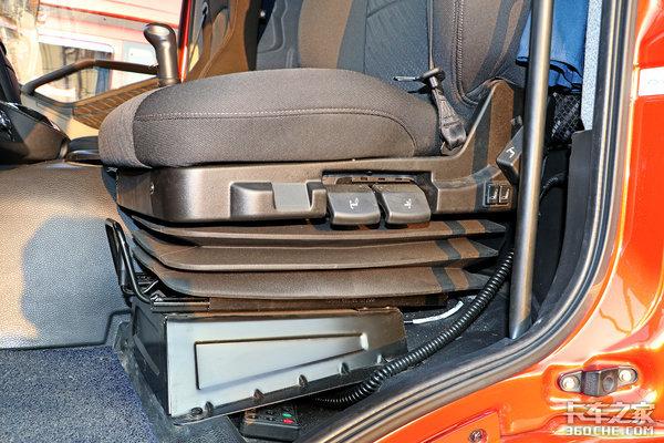 小轮胎气囊桥118立方大容积解放J6P中置轴拉快递比牵引还灵活