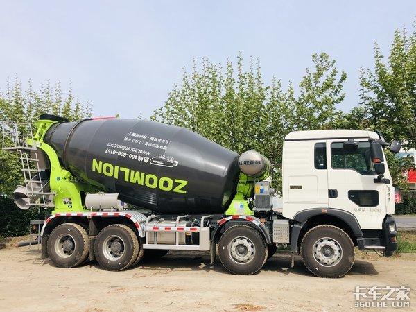 图解中国重汽HOWOTX搅拌车专注安全运输