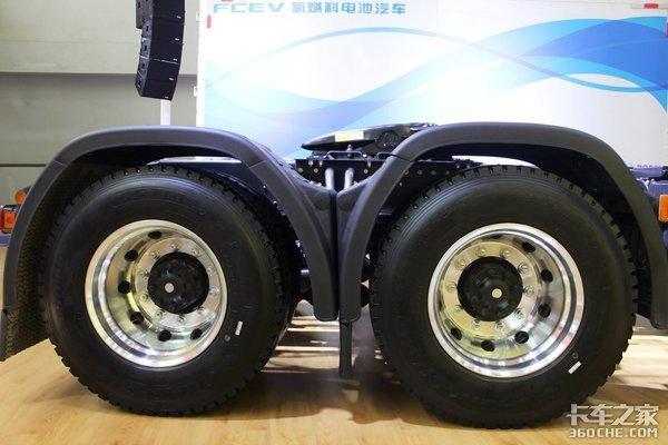 16升大排量发动机+采埃孚AMT庆铃巨咖快递牵引车很省油