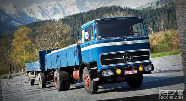 德系工业的魅力奔驰卡车产品发展历史
