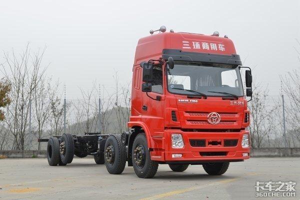 绿通运输选车三环昊龙8米货箱极具优势