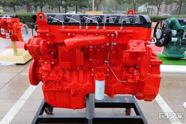 搭载福康发动机V3ET变V6XT北奔新车它来啦!