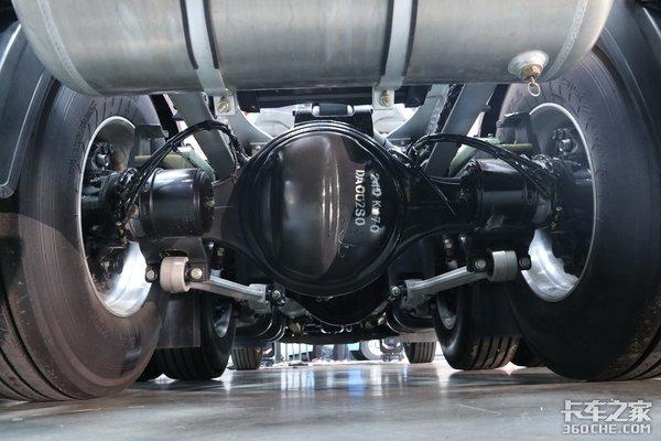 510马力6x4自重7.2吨塑料板簧铝合金大梁图解轻量化乘龙H7