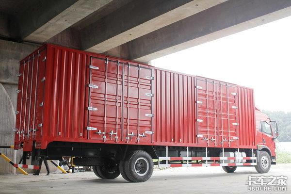 4款9米8厢式大单桥你选谁还有3万5的优惠可吃!