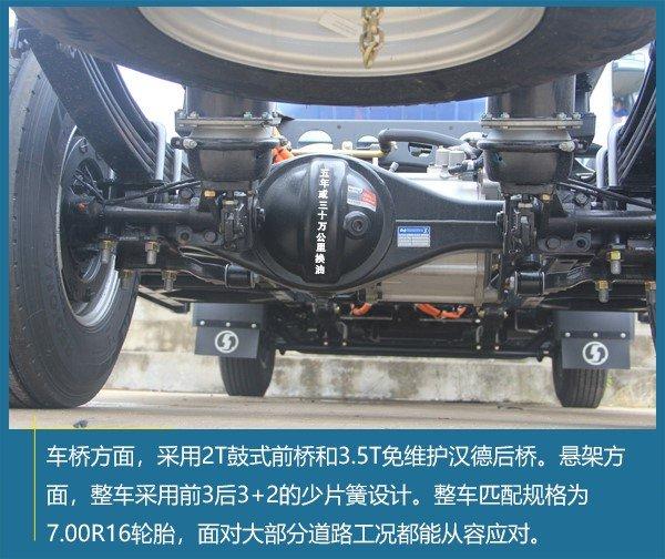 每公里耗电仅0.2元静态体验陕汽德龙纯电动轻卡