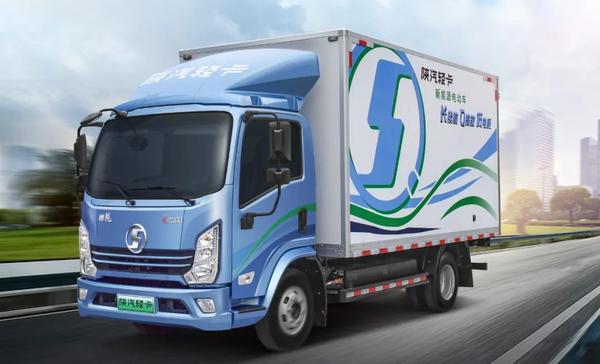 高端新能源城际货运用什么车?看了就知道