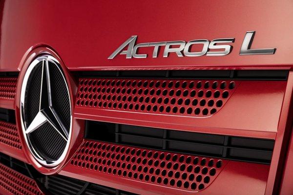 更高配置更豪华的ActrosL来了!这款奔驰谁不喜欢?