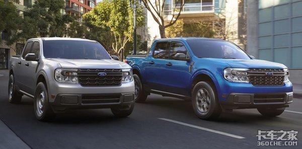 福特最新款紧凑级皮卡来了!Maverick