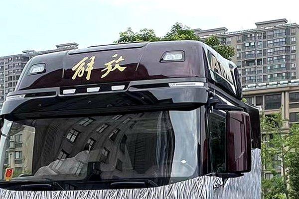解放J6平地板车型最新谍照曝出这外观不看后悔!