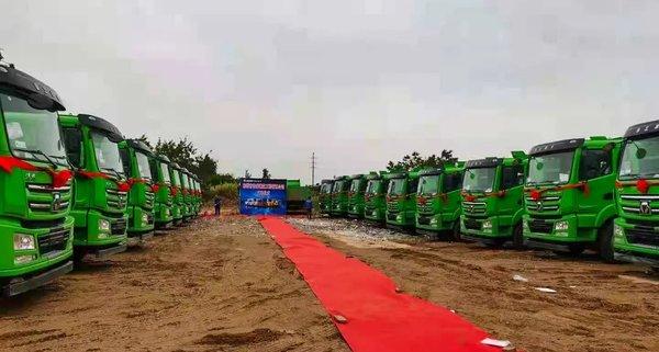 汉风G7环保渣土车燃爆惠州市场百台订单妥妥滴