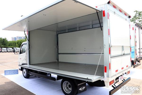 120马力能装2吨还有减震座椅福田领航S1小卡摆摊运输全能干