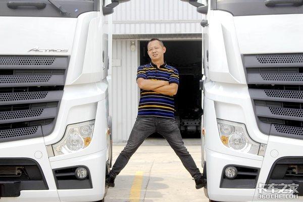 年年都买进口车这家公司为何偏爱奔驰Actros