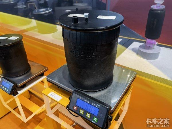 轻量化好维护承载力强还集成减振器康迪泰克展示空气弹簧