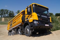 斯堪尼亚XT8x8自卸车 专为矿山运输而生