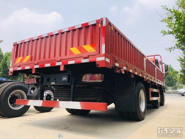 配货运输专用大运致胜载货车解读
