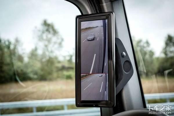 视野好盲区小卡车是否需要电子后视镜