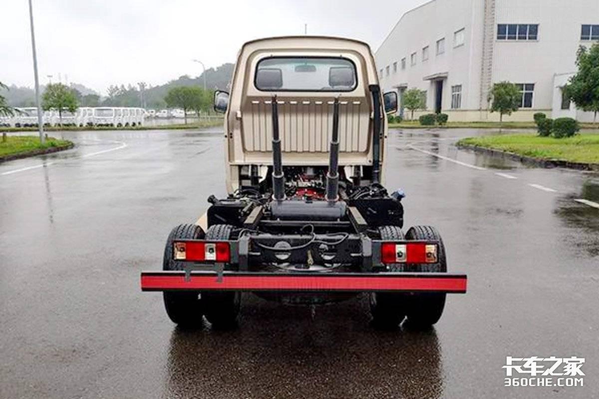 强劲国六全柴机+2吨合法装载瑞帅F系自卸小卡堪比轻卡!