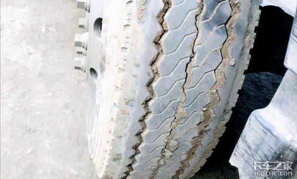 轮胎就像被狗啃位置更换顺序做对了吗