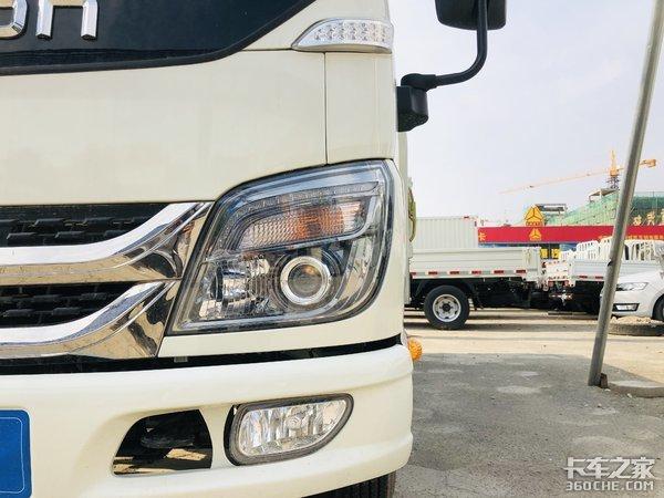 全柴国六115马力福田时代小卡自重2200kg