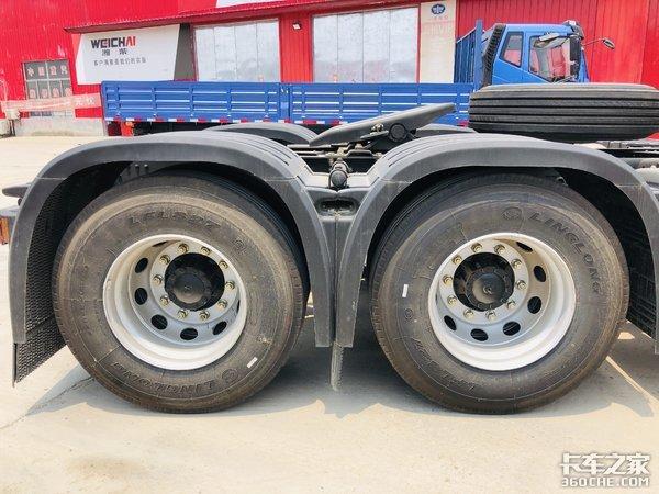 钢材运输怎么选车国六400马力德龙新M3000咋样