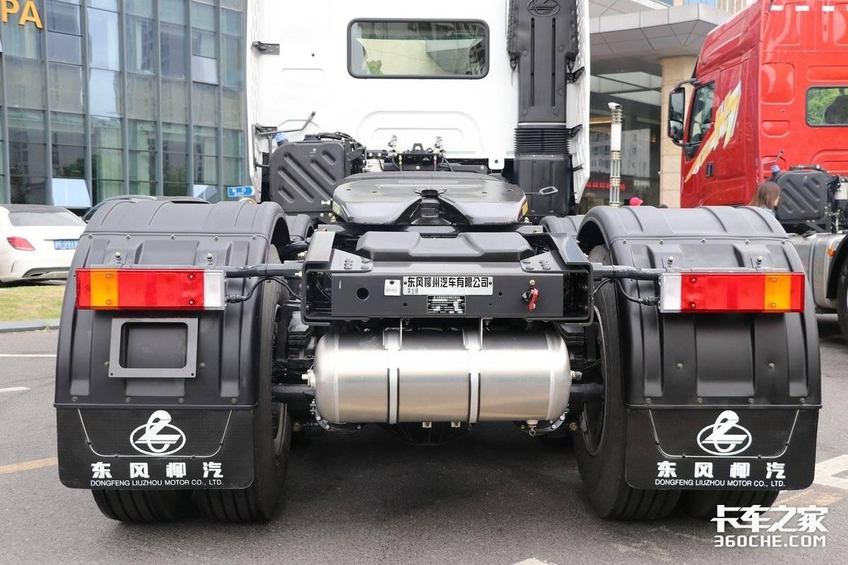 600马力配千升大油箱乘龙H7陆航版图解
