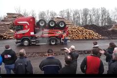 能折叠的卡车 这要高速收费应该算几轴