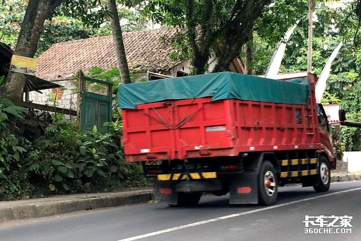 欧二照样上路!印尼是日系轻卡养老胜地