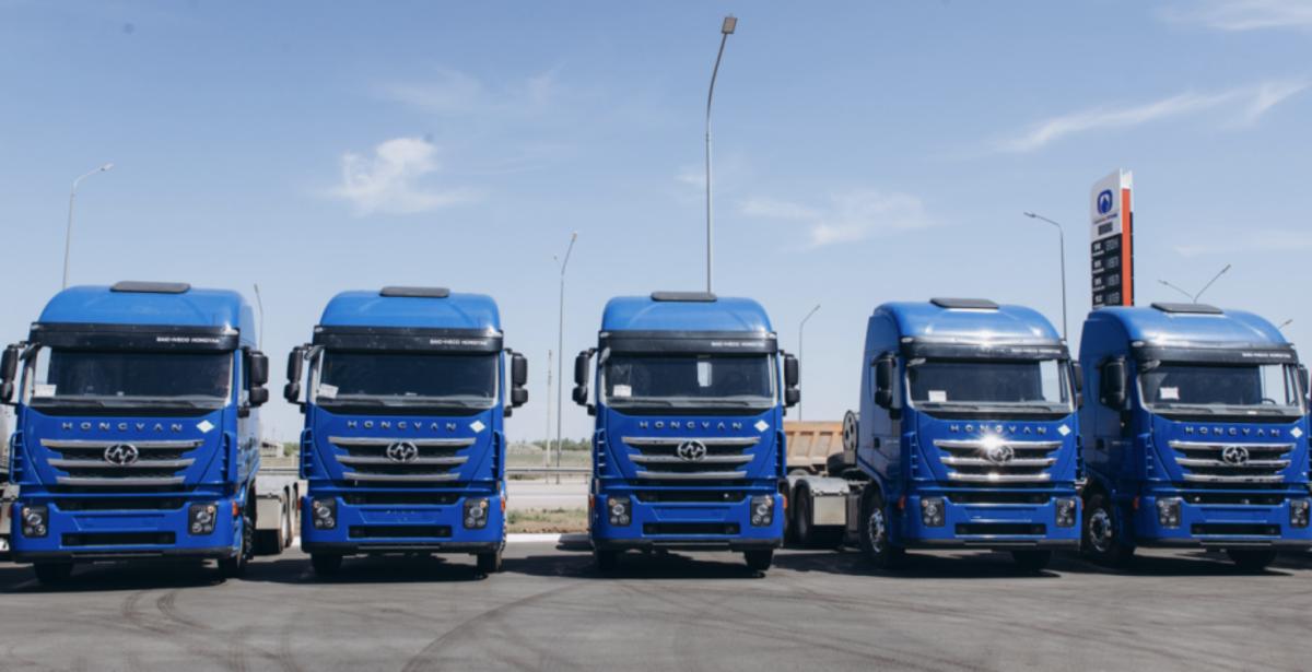 500台天然气重卡交付俄罗斯上汽红岩海外市场又添新战绩