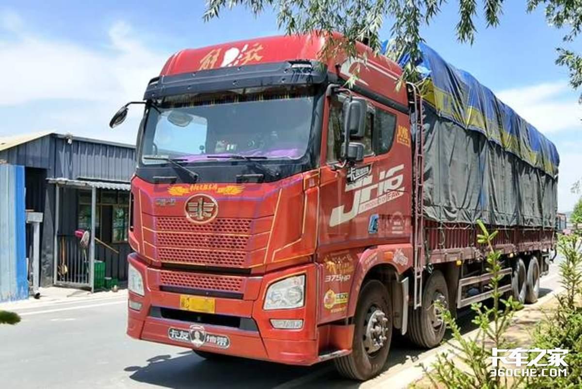 3年半60万公里进过藏抗过疫的JH6载货车表现如何?