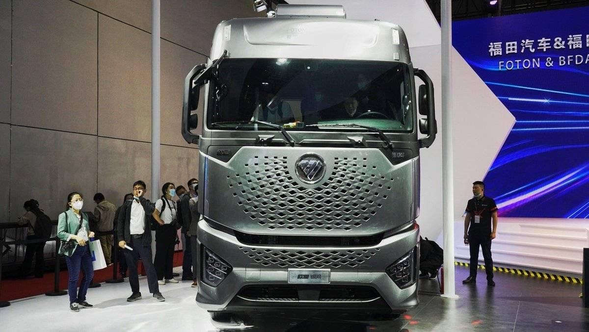 2021上半年销量接近去年全年欧曼自动挡重卡工程车即将亮相