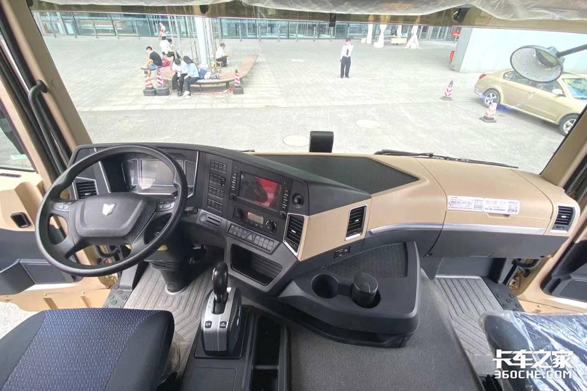 国六联合卡车亮相2021多式联运亚洲展