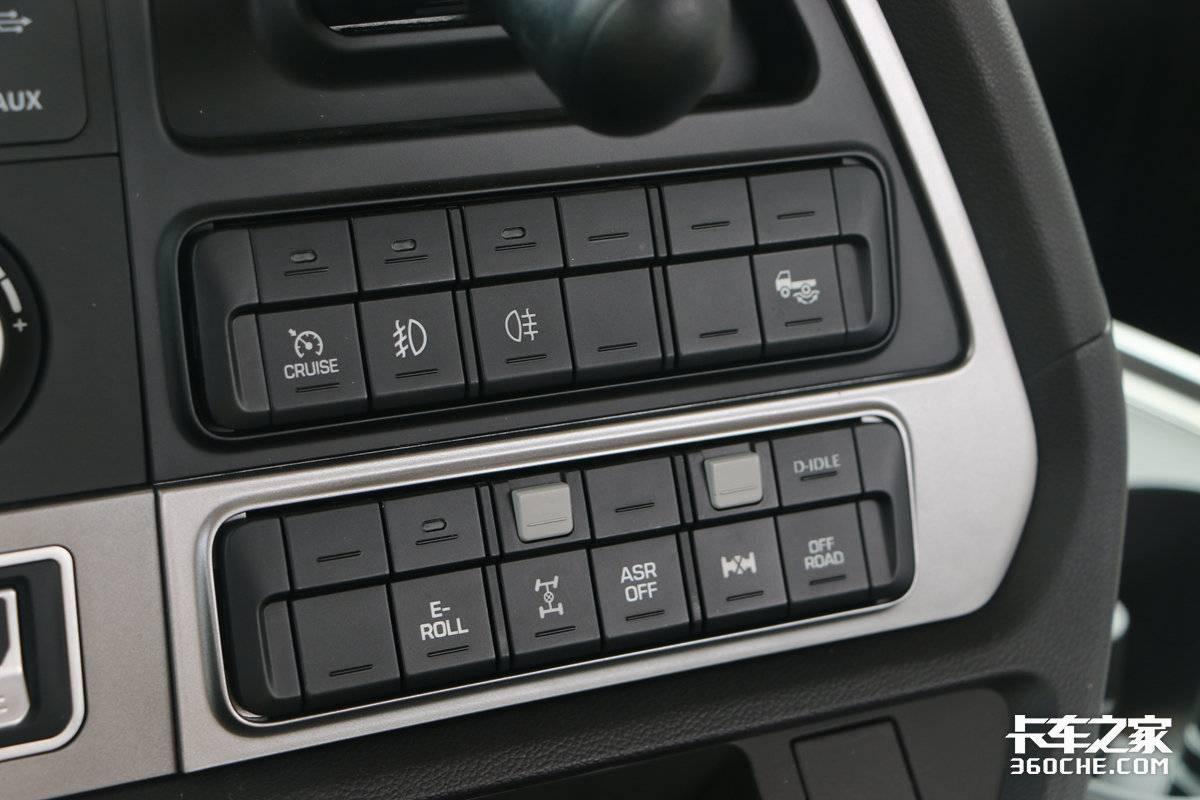 配怠速行驶、越野、滑行等功能现代全新创虎实拍AMT跑干线如何?