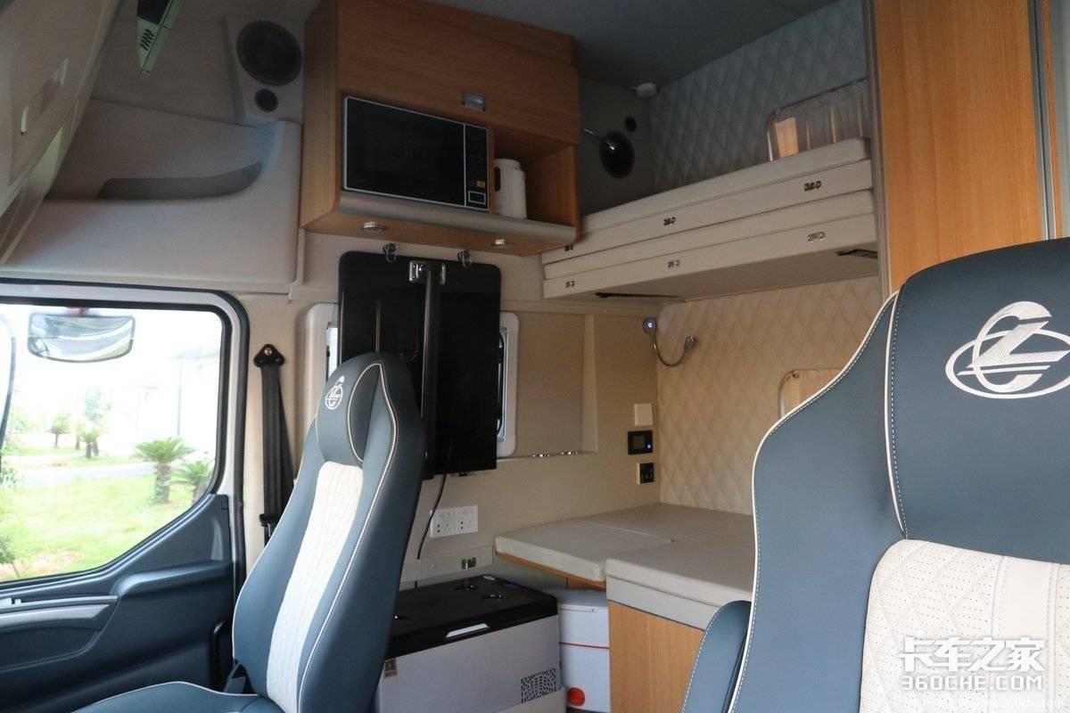 生活舱卡车席卷而来我们的卡车司机真的很需要它吗?