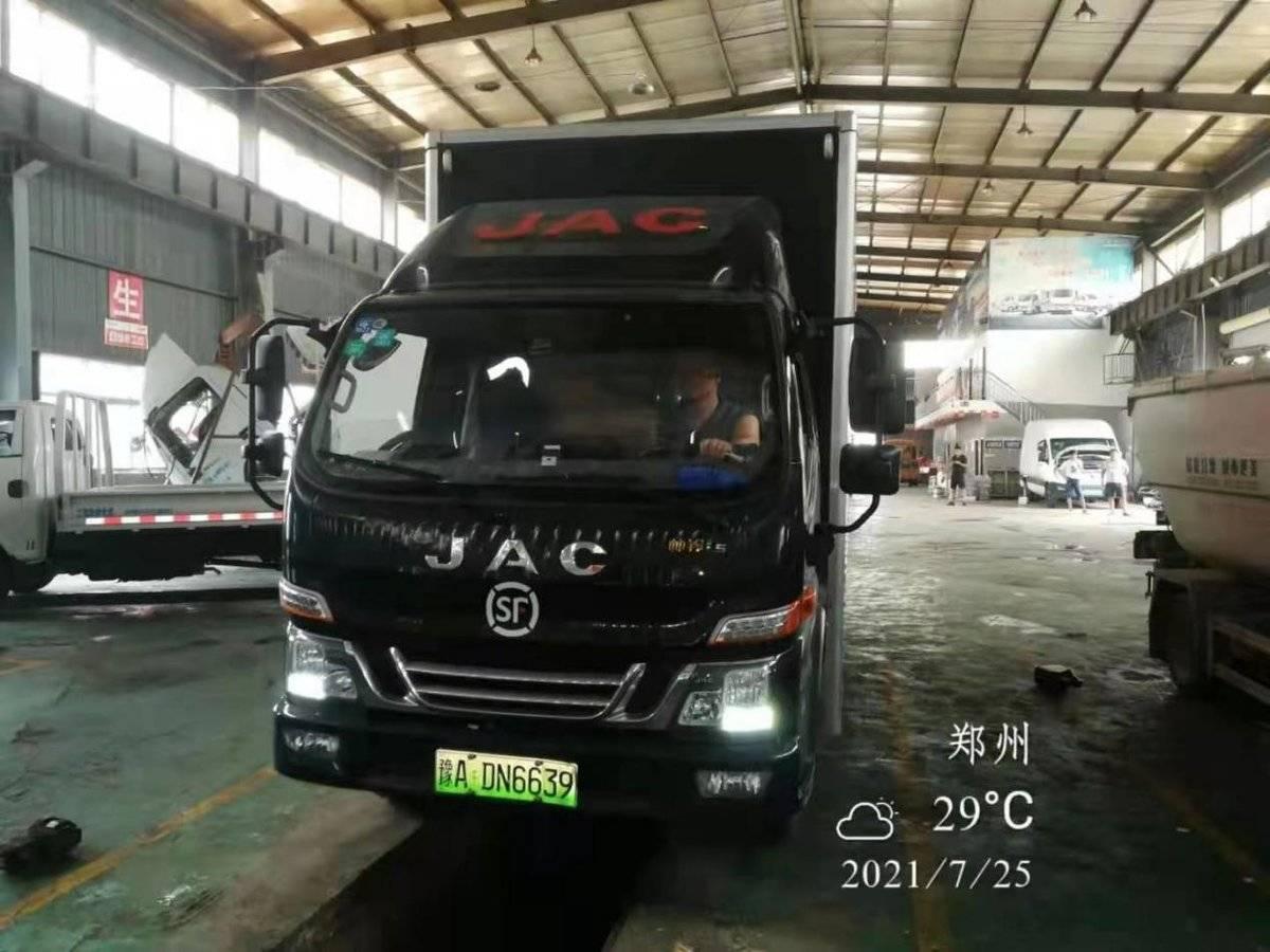 河南暴雨侵袭车辆受损江淮轻卡免费救援助力救灾