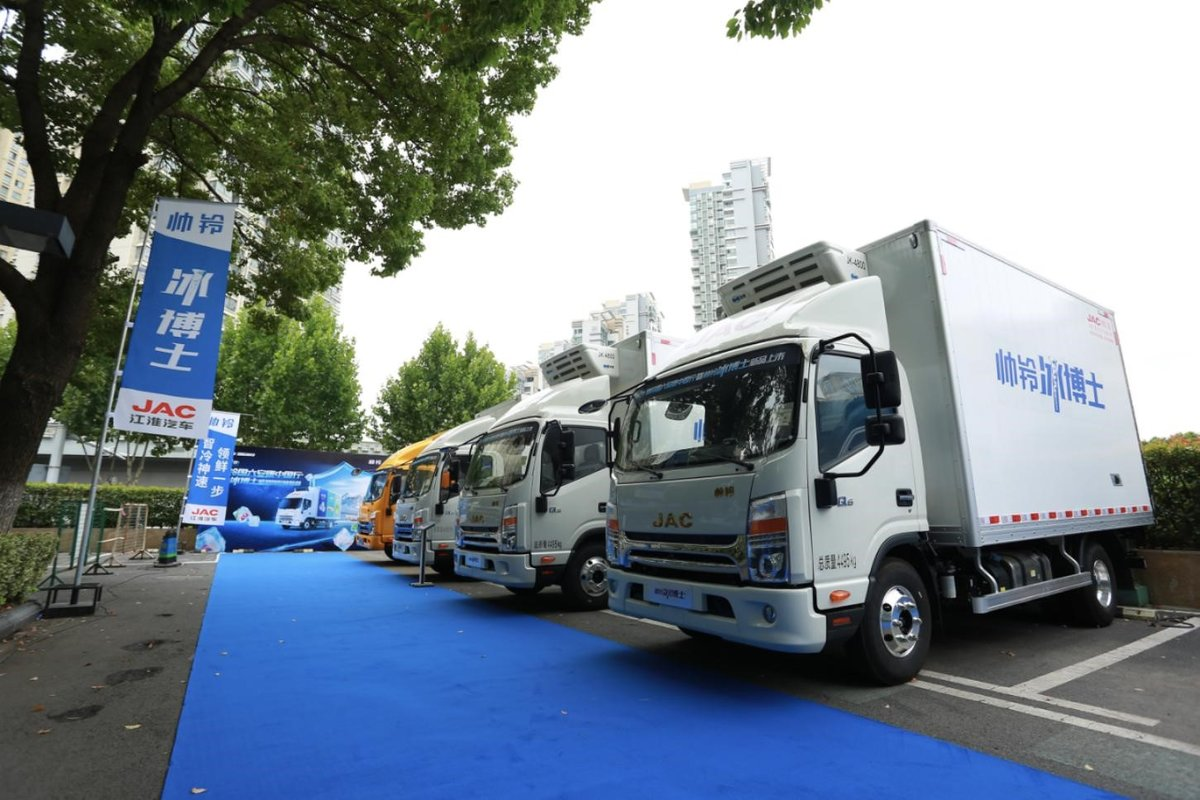 加速产品升级江淮轻卡引领国六新时代