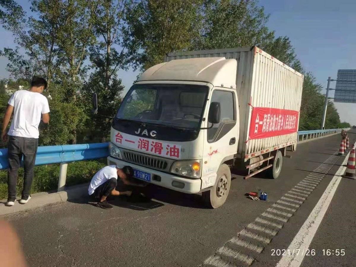 江淮轻卡:以专业技能助力河南抗洪救灾