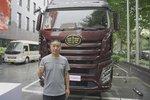 最新J6卡车赠英雄 解放为卡友义举护航