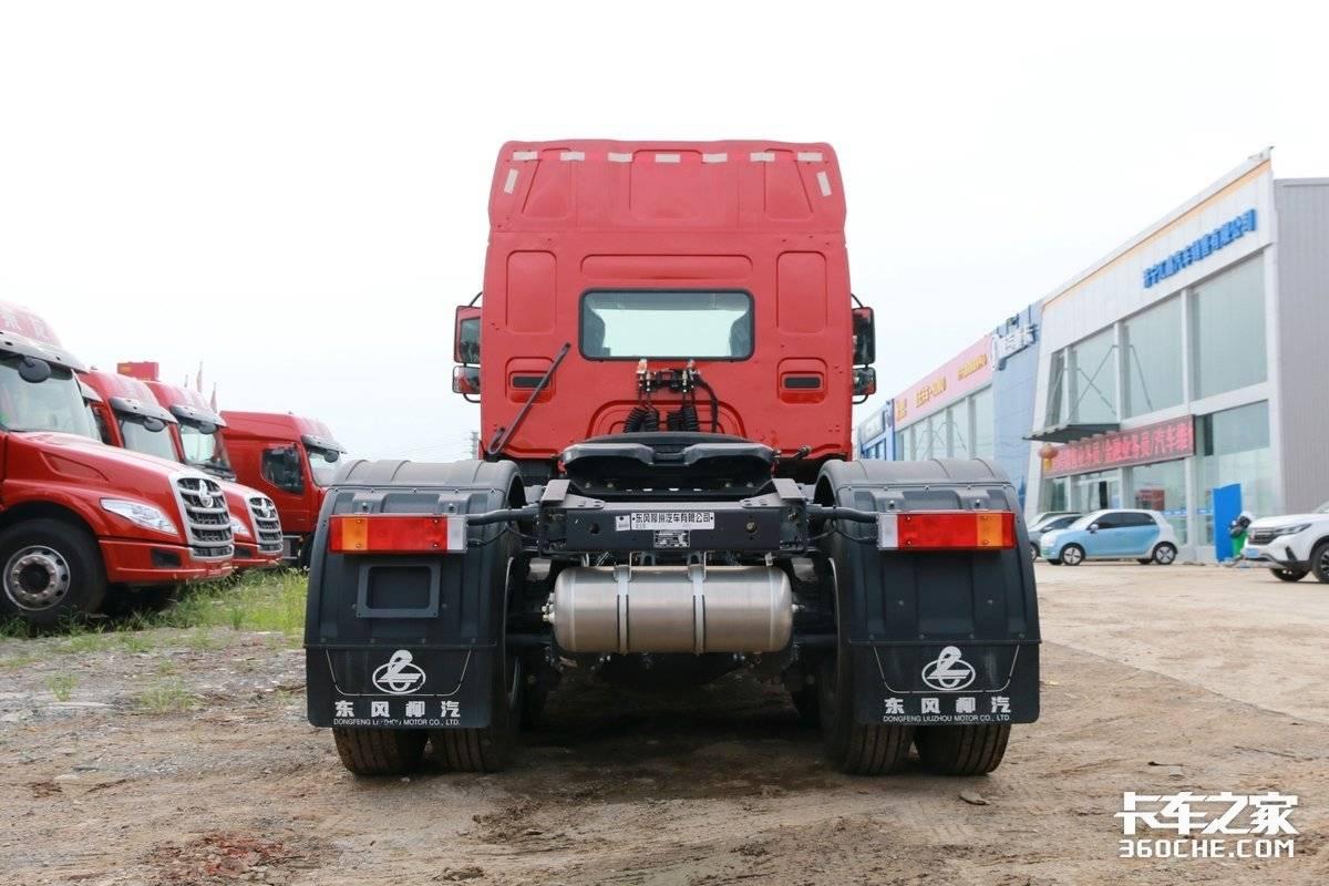 不到30万能入手6×4长头牵引车这款乘龙T5性价比有点高!