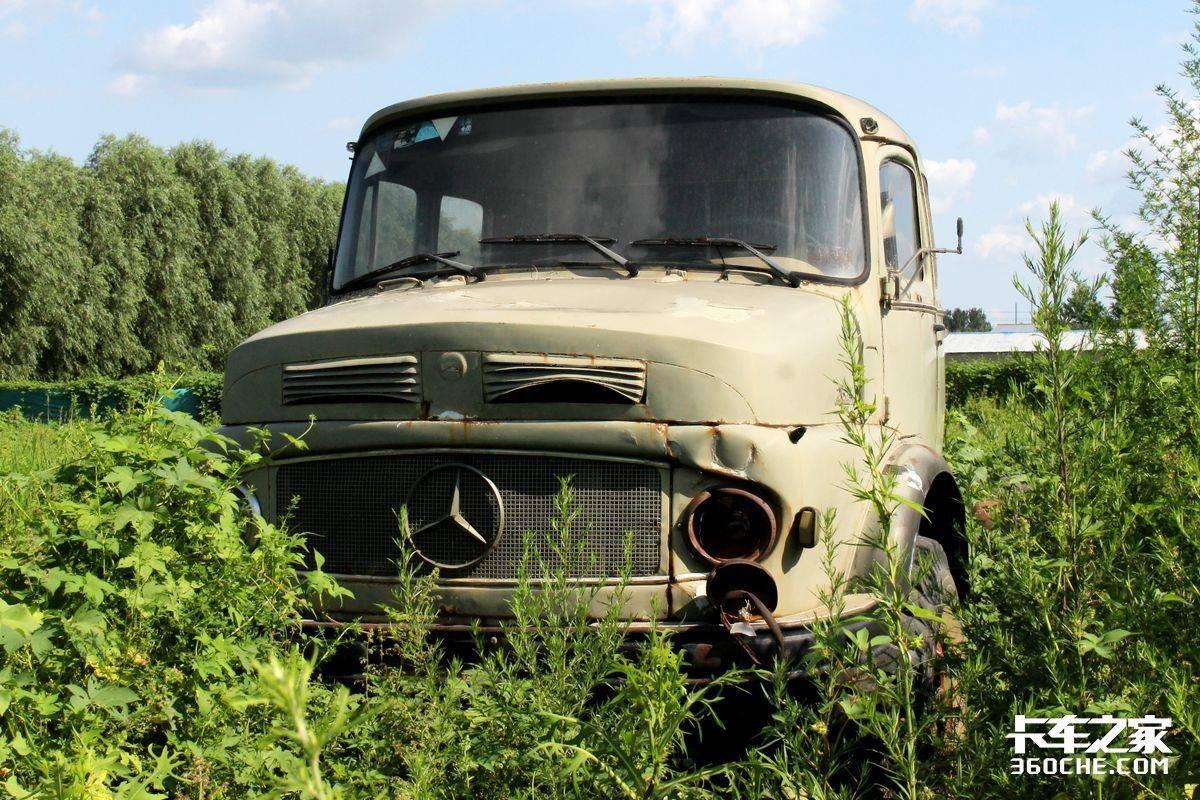 是卡友的第一次吗?老卡车收藏家和那些情怀老卡车