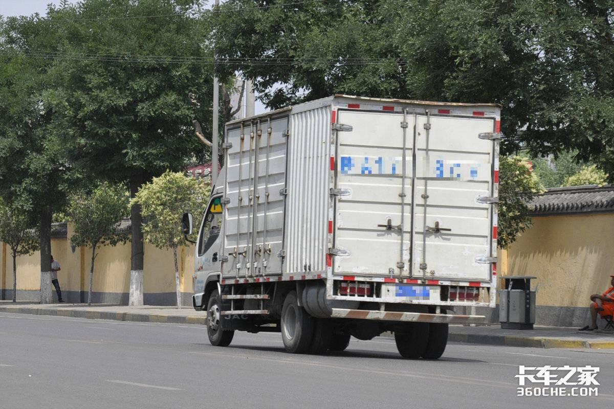 上路被查就1500元6分、货源被小卡抢轻卡为啥就不增吨