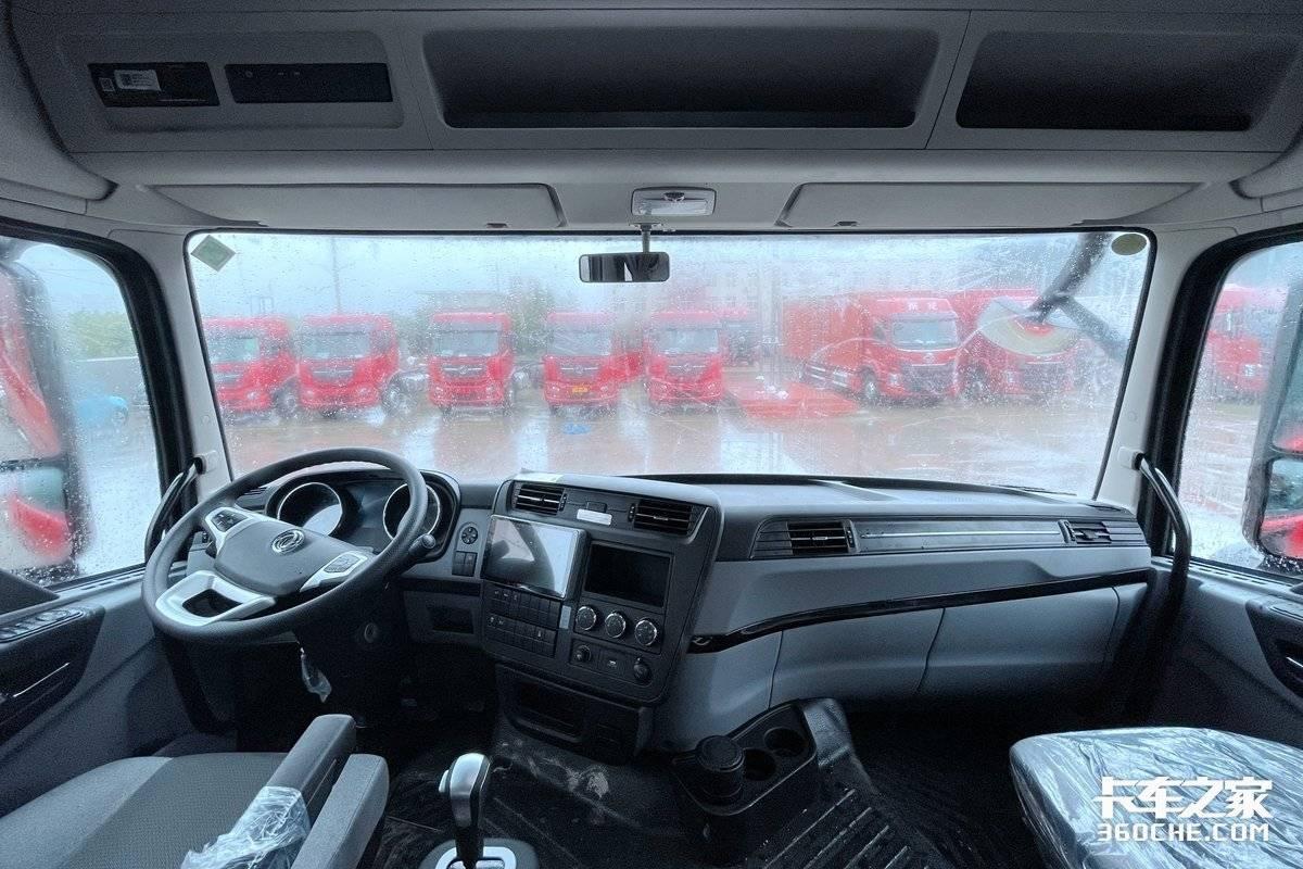 B牌照想拉重货如何选车?这3款AMT8X4载货车既舒适又强劲